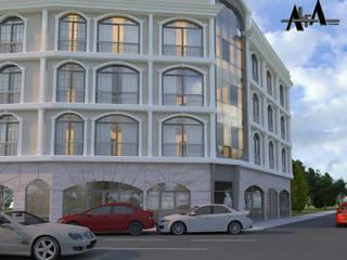 alfa mimarlık – Orhan Kaya:  tarz Ofisler ve Mağazalar