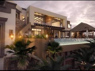 Casa en Pedregal CSL: Casas de estilo  por A+D Arquitectura