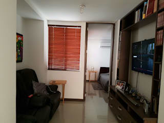 ห้องทำงาน/อ่านหนังสือ by CH Proyectos Inmobiliarios