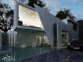 RESIDENCIA VELÁZQUEZ: Casas de estilo moderno por RM ARQUITECTURA