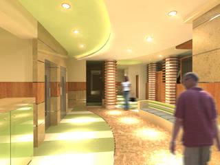 Hospitais modernos por Quattro designs Moderno