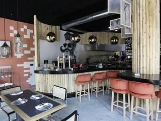 RESTAURANTE ESTRAGÓN Bares y clubs de estilo ecléctico de María Abascal Ecléctico
