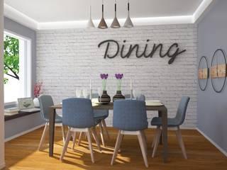 Cucina moderna: Sala da pranzo in stile  di IDlab , Moderno