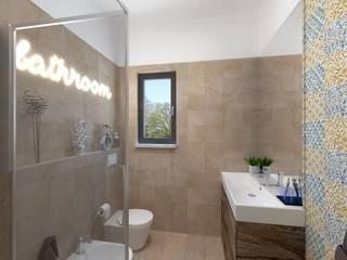 Ampliamento bagno: Bagno in stile  di IDlab , Rustico