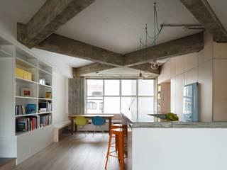 Wars-Stol Living roomShelves MDF White