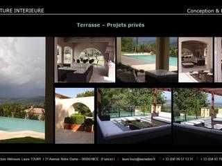 Exterieur: Maisons de style  par Architecture interieure Laure Toury