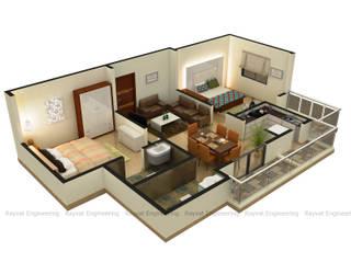 3D Floor Plan Services by Rayvat Rendering Studio