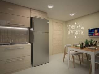 SEVDE KASA İÇ MİMARLIK – Dobruca Villaları Mutfak:  tarz Ankastre mutfaklar
