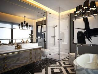 VİLLA Modern Banyo DECOFEMME İÇ MİMARLIK Modern