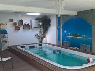 Modern pool by architekturbuero dunker Modern