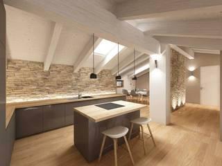APPARTAMENTO MP: Cucina in stile  di dga architetti