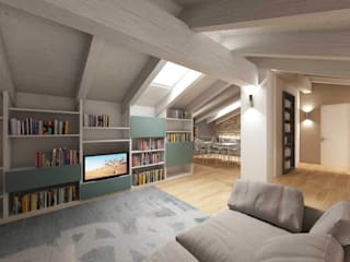 Living room by dga architetti, Modern