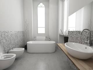 VILLA ELENA B&B: Bagno in stile  di dga architetti