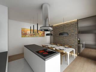 CASA CA: Cucina in stile  di dga architetti