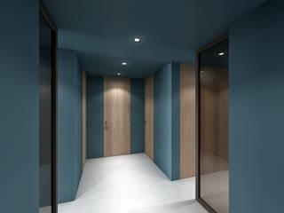 CASA CA: Ingresso & Corridoio in stile  di dga architetti