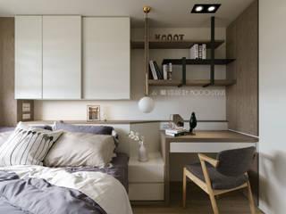 Bedroom by Moooi Design 驀翊設計, Scandinavian