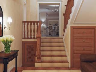 Дом 200 кв. м. в КП Лосиный Парк: Коридор и прихожая в . Автор – Loft&Home