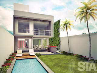 Modern style gardens by Soluciones Técnicas y de Arquitectura Modern