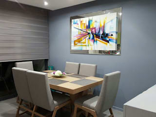 Zoi Residencial Zapopan: Comedores de estilo  por Spazio Diseño de Interiores & Arquitectura
