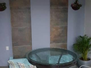Zoi Residencial Zapopan: Terrazas de estilo  por Spazio Diseño de Interiores & Arquitectura