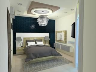 Recamaras : Recámaras de estilo  por Spazio Diseño de Interiores & Arquitectura