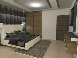 Recamaras : Recámaras de estilo moderno por Spazio Diseño de Interiores & Arquitectura