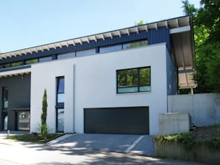 Architekten Lenzstrasse Dreizehn Single family home Wood