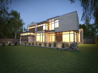 Modern houses by Contempo Studio Modern