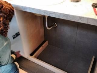 Mueble Baño de BLUK interiores Minimalista