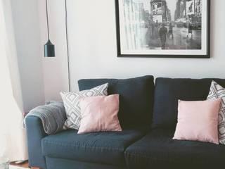 Proyecto Cramer: Livings de estilo  por BLUK interiores