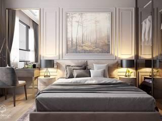 MASTERI THẢO ĐIỀN, D2 Phòng ngủ phong cách kinh điển bởi LEAF Design Kinh điển
