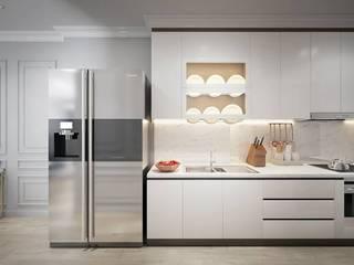MASTERI THẢO ĐIỀN, D2 Nhà bếp phong cách kinh điển bởi LEAF Design Kinh điển