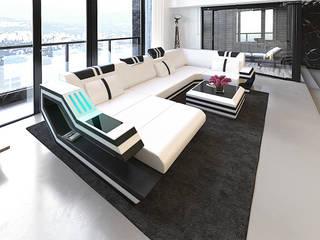 DIVANOVA SalasSalas y sillones Cuero sintético Blanco