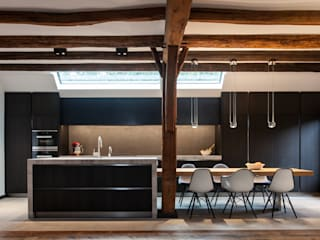 廚房 by Bob Romijnders Architectuur & Interieur, 現代風