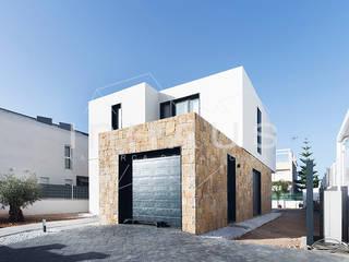 Maisons méditerranéennes par Casas inHAUS Méditerranéen Pierre