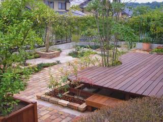「訪れる、心地よさ」: GAZON~ガゾン~が手掛けた庭です。,