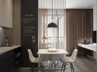 Phòng ăn phong cách hiện đại bởi Tatiana Sukhova Hiện đại