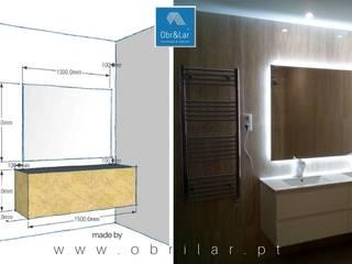 Remodelação:   por Obr&Lar - Remodelação de Interiores
