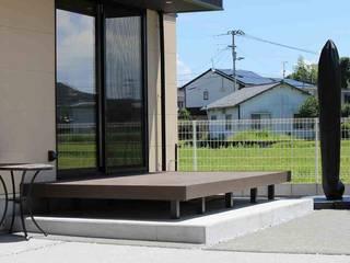 エクステリア: 有限会社 トータルエクステリアいしまるが手掛けた家です。