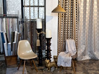 Industrial style study/office by Anke Anstoetz Personal Interior Design Industrial