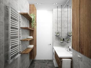 Industrial style bathroom by ARCHDUET&DA Industrial