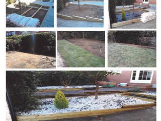 de Mantenimiento y Decoración Jardines Minimalista
