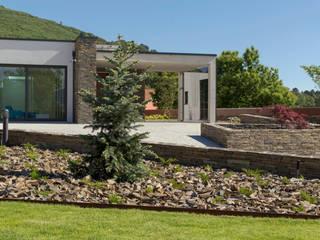 Jardim Particular Jardins modernos por Hugo Guimarães Arquitetura Paisagista Moderno