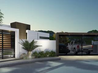 Casa Villafloresta: Casas unifamiliares de estilo  por CONSTRUYE IDEAS