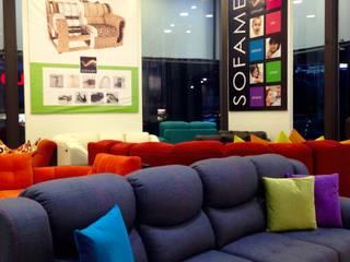 Modern living room by SOFAMEX Tienda en línea Modern