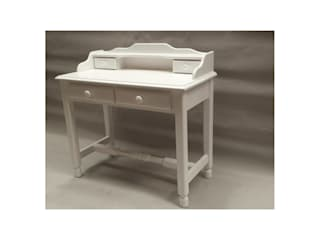 MABA ONLINE Study/officeDesks Wood White