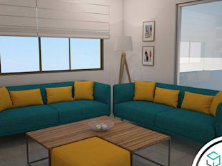 Modern Terrace by Spacio5 Modern