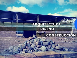 Construcción de galpón industrial. :  de estilo  por Mora Arquitectura y Diseño