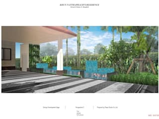 Landscape Design for Narasiri Rama 2:   by Thaan Studio