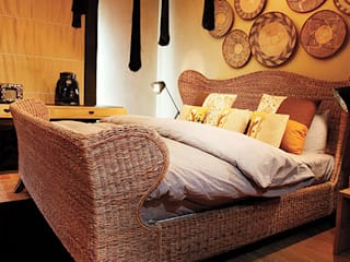 Homes Julia Dempster Eclectic style bedroom